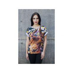 T-shirt Broken Deer. Szare t-shirty męskie Bahabay, z nadrukiem, z bawełny. Za 83.30 zł.