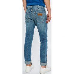 Wrangler - Jeansy Spencer. Niebieskie jeansy męskie Wrangler. Za 329.90 zł.