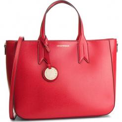 Torebka EMPORIO ARMANI - Y3D082 YH15A 88158 Red/Black. Czerwone torebki do ręki damskie Emporio Armani, ze skóry ekologicznej. Za 899.00 zł.