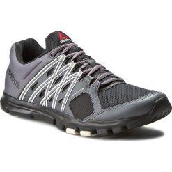 Buty Reebok - Yourflex Train 8.0 AR3224 Black/Ash Grey/Chalk. Szare buty sportowe męskie Reebok, z materiału. W wyprzedaży za 179.00 zł.