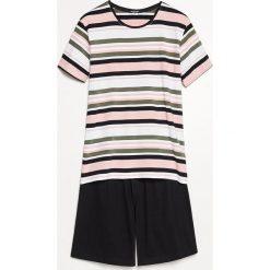 Piżama z szortami - Różowy. Czerwone piżamy męskie Reserved. Za 69.99 zł.