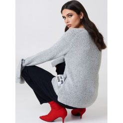 Rut&Circle Sweter dzianinowy Winnie - Grey. Szare swetry damskie Rut&Circle, z dzianiny. Za 121.95 zł.