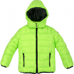 Kurtka zimowa w kolorze zielonym. Zielone kurtki i płaszcze dla chłopców Bondi, na zimę, ze skóry. W wyprzedaży za 132.95 zł.