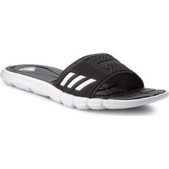 Klapki adidas - adipure Cf BB4558  Cblack/Ftwwht/Cblack. Czarne klapki damskie Adidas, z materiału. Za 129.00 zł.
