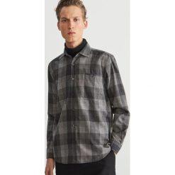 Koszula w kratę - Szary. Koszule męskie marki Giacomo Conti. W wyprzedaży za 99.99 zł.