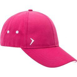 Czapka damska CAD600 - różowy melanż - Outhorn. Czerwone czapki i kapelusze damskie Outhorn, z materiału. Za 29.99 zł.