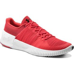 Buty UNDER ARMOUR - Ua Ultimate Speed 3000329-600 Pie/Wht/Blk. Czerwone buty sportowe męskie Under Armour, z materiału. W wyprzedaży za 259.00 zł.
