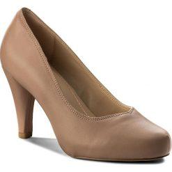 Półbuty CLARKS - Dalia Rose 261322664 Nude Leather. Półbuty damskie marki Clarks. W wyprzedaży za 269.00 zł.