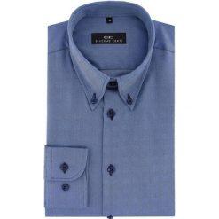 Koszula BIAGIO 16-06-16-K. Niebieskie koszule męskie Giacomo Conti, z bawełny, button down, z długim rękawem. Za 199.00 zł.