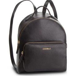 Plecak COCCINELLE - DF8 Clementine Soft E1 DF8 14 01 01 Noir 001. Czarne plecaki damskie Coccinelle, ze skóry. Za 1,299.90 zł.