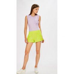 Adidas Originals - Top. Szare topy damskie adidas Originals, z bawełny, z okrągłym kołnierzem, bez rękawów. W wyprzedaży za 119.90 zł.