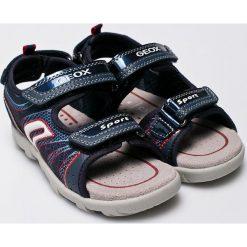Geox - Sandały dziecięce. Sandały chłopięce Geox, z gumy. W wyprzedaży za 179.90 zł.