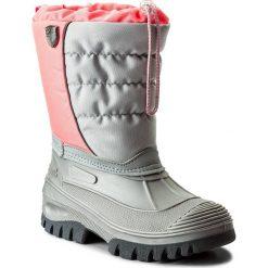 Śniegowce CMP - Kids Hanki 3Q48064J Pink Fluo B351. Buty zimowe dziewczęce marki CMP. W wyprzedaży za 149.00 zł.