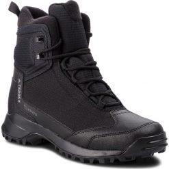 Buty adidas - Terrex Frozetrack High Cw AC7838  Cblack/Cblack/Grefou. Czarne trekkingi męskie Adidas, z materiału. W wyprzedaży za 519.00 zł.