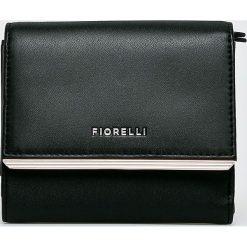 Fiorelli - Portfel. Czarne portfele damskie Fiorelli, z materiału. Za 189.90 zł.