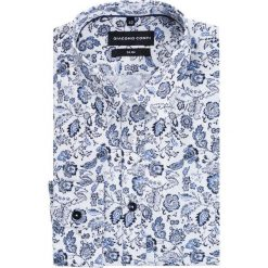 Koszula SIMONE KDWS000177. Białe koszule męskie Giacomo Conti, z bawełny, z klasycznym kołnierzykiem. Za 199.00 zł.