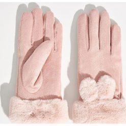Rękawiczki - Różowy. Czerwone rękawiczki damskie Sinsay. Za 29.99 zł.