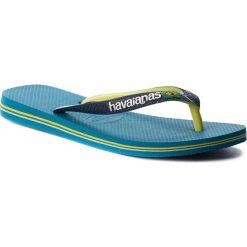 Japonki HAVAIANAS - Brasil Mix 41232060212 Turquoise. Klapki damskie marki Birkenstock. W wyprzedaży za 89.00 zł.