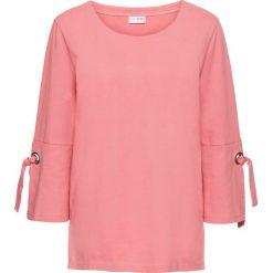 Bluza z oczkami i sznurowaniem bonprix dymny różowy. Bluzy damskie marki KALENJI. Za 79.99 zł.