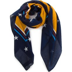 Chusta TOMMY JEANS - Tjw Flag Heart Scarf AW0AW05635 808. Niebieskie szaliki i chusty damskie Tommy Jeans, z bawełny. Za 159.00 zł.