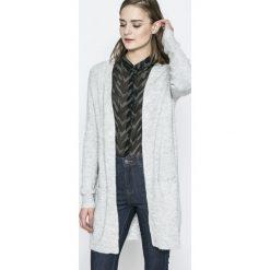 Vero Moda - Sweter. Szare kardigany damskie Vero Moda, z dzianiny. W wyprzedaży za 89.90 zł.