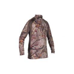 Koszulka myśliwska z długim rękawem RESPI ACTIKAM 500 LIGHT KAMO BROWN. Brązowe bluzki z długim rękawem męskie SOLOGNAC. Za 99.99 zł.