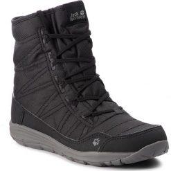Śniegowce JACK WOLFSKIN - Portland Boot W 4024611  Black. Czarne śniegowce i trapery damskie Jack Wolfskin, z materiału. Za 519.99 zł.