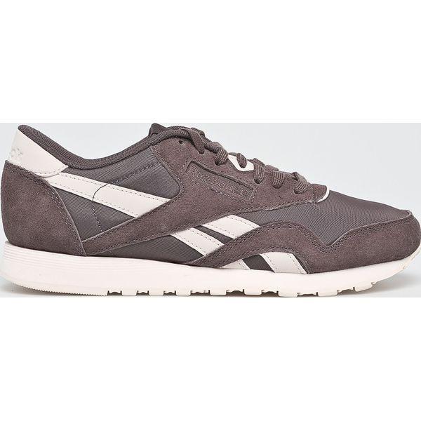 65e6fceb1ba96c Reebok Classic - Buty Cl Nylon - Fioletowe obuwie sportowe damskie ...