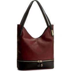 Torebka CREOLE - RBI10082  Bordowy/Czarny. Czerwone torby na ramię damskie Creole. W wyprzedaży za 229.00 zł.