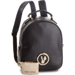 Plecak VERSACE JEANS - E1VSBBV3 70790 899. Czarne plecaki damskie Versace Jeans, z jeansu. Za 729.00 zł.