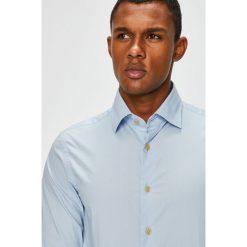 G-Star Raw - Koszula. Szare koszule męskie G-Star Raw, z bawełny, z klasycznym kołnierzykiem, z długim rękawem. Za 329.90 zł.