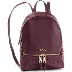 Plecak NOBO - NBAG-F2450-C005 Bordowy. Czerwone plecaki damskie Nobo, ze skóry ekologicznej. W wyprzedaży za 199.00 zł.