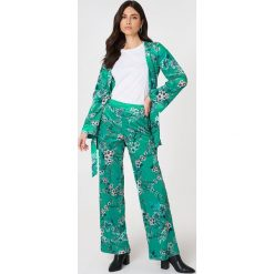 Gestuz Spodnie Ocean - Green,Multicolor. Zielone spodnie materiałowe damskie Gestuz. W wyprzedaży za 169.98 zł.