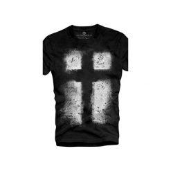 T-shirt UNDERWORLD Organic Cotton Krzyż. Czarne t-shirty męskie Underworld, z nadrukiem. Za 69.99 zł.
