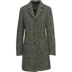 Płaszcz bonprix nocny oliwkowy melanż. Płaszcze damskie marki FOUGANZA. Za 169.99 zł.