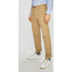 Tommy Hilfiger Tailored - Spodnie. Szare eleganckie spodnie męskie Tommy Hilfiger Tailored, z bawełny. Za 449.90 zł.