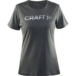 Craft CRAFT Prime Logo Tee -1904342-1975 - Koszulka damska r. M szara. T-shirty damskie Craft. Za 64.95 zł.