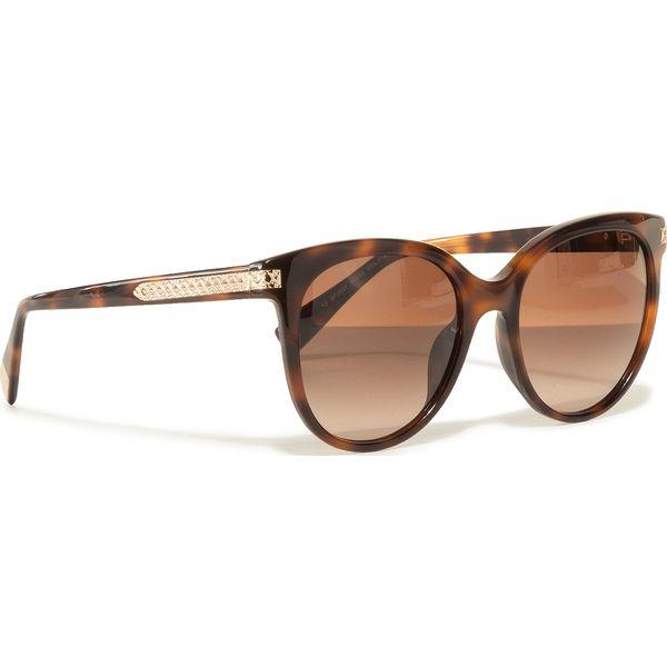 Okulary przeciwsłoneczne Brązowe okulary przeciwsłoneczne