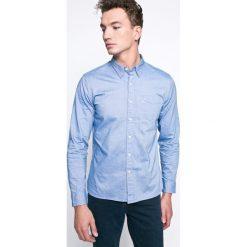 Levi's - Koszula. Brązowe koszule męskie Levi's, z bawełny, button down, z długim rękawem. Za 239.90 zł.