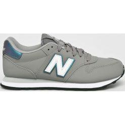 New Balance - Buty. Szare obuwie sportowe damskie New Balance, z gumy. W wyprzedaży za 259.90 zł.