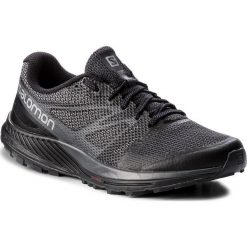 Buty SALOMON - Sense Escape 404871 27 W0 Black/Black/Magnet. Czarne buty sportowe męskie Salomon, z materiału. W wyprzedaży za 349.00 zł.