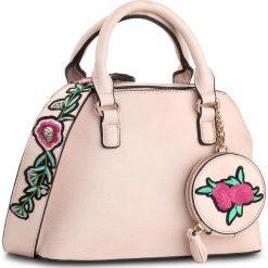 Torebka JENNY FAIRY - RC13316  Różowy Jasny. Czerwone torebki do ręki damskie Jenny Fairy, ze skóry ekologicznej. Za 119.99 zł.
