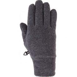 Rękawiczki polarowe uniseks REU002z - ciemny szary melanż. Rękawiczki damskie marki FOUGANZA. W wyprzedaży za 34.99 zł.