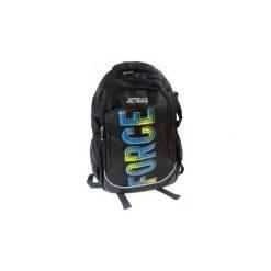 Plecak młodzieżowy Jetbag 18H13. Czarna torby i plecaki dziecięce Derform, z tkaniny. Za 65.00 zł.