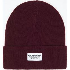 Czapka - Bordowy. Czerwone czapki i kapelusze męskie Cropp. Za 29.99 zł.
