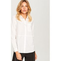 Biała koszula z bawełny organicznej - Biały. Koszule damskie marki SOLOGNAC. W wyprzedaży za 49.99 zł.