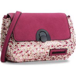 Torebka MONNARI - BAG3240-004 Pink. Czerwone listonoszki damskie Monnari, z materiału. W wyprzedaży za 119.00 zł.
