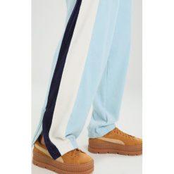 Fenty PUMA by Rihanna TRACK Spodnie treningowe sterling bluevanilla ice. Spodnie dresowe damskie Fenty PUMA by Rihanna, z bawełny. Za 759.00 zł.