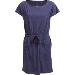 Sukienka SUDD600 - granatowy melanż - Outhorn. Niebieskie sukienki damskie Outhorn, na lato, melanż, z bawełny, sportowe. W wyprzedaży za 54.99 zł.