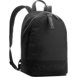 Plecak CALVIN KLEIN - Shadow Round Backpac K50K503905 001. Czarne plecaki damskie Calvin Klein, z materiału, sportowe. Za 449.00 zł.